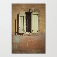 window Canvas Prints featuring Window by Maria Heyens