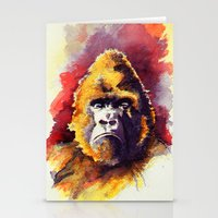 ape Stationery Cards featuring APE by Chris Brothers
