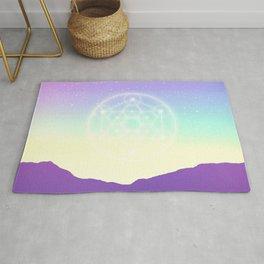 Sacred Geometry (Sacred Merkaba) Rug
