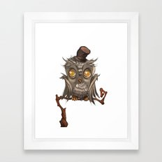 It surely was a hoot! Framed Art Print