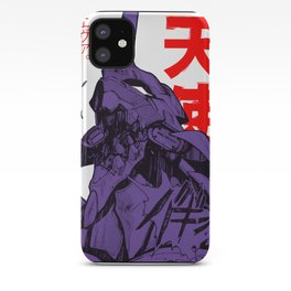 Eva 01 evangelion iPhone Case