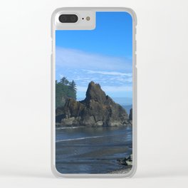 Morning At Ruby Beach Clear iPhone Case