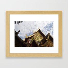 Golden Temple Framed Art Print
