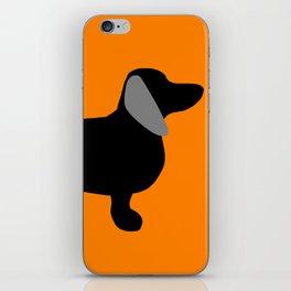 Halloweiner Dog iPhone Skin