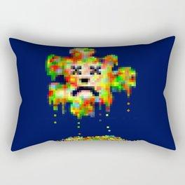 Error Meltdown Rectangular Pillow