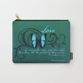 The Greatest of These is Love Carry-All Pouch