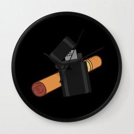 CUBAN CIGAR Cigar Aficionado Gift Cigar Smoker Wall Clock