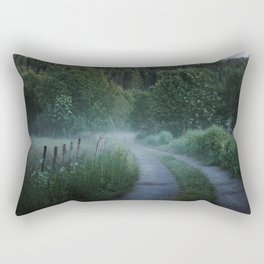 Norwegian Foggy Forest Rectangular Pillow