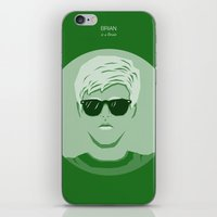 the breakfast club iPhone & iPod Skins featuring The Breakfast Club - Brian by Pri Floriano