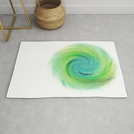 Wind_Ripple_Watercolour_Spin_Positive_Energy Rug