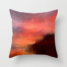 Erruption Throw Pillow
