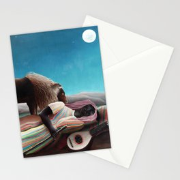 Henri Rousseau The Sleeping Gypsy Stationery Cards