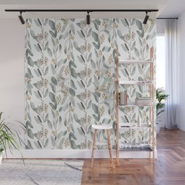 Eucalyptus stripes Wall Mural