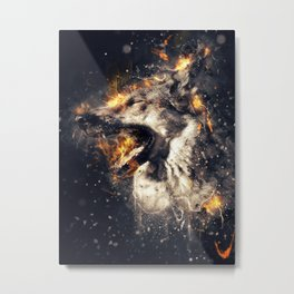 Firestorm Metal Print