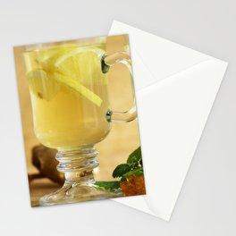 Fresh Fresh lemon tea Stationery Cards