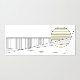 Sunship Canvas Print