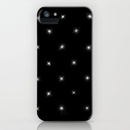 Star Diamond Pattern iPhone Case