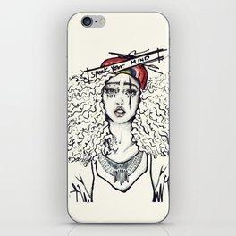 #STUKGIRL SKY iPhone Skin