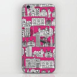 New York pink iPhone Skin