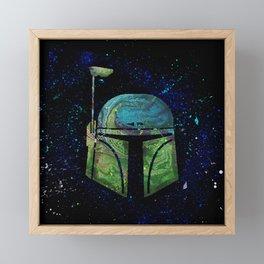 Boba Fett Framed Mini Art Print