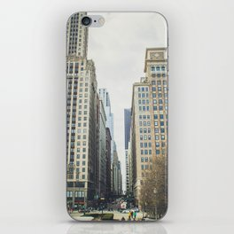 Chicago street iPhone Skin