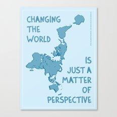 Dymaxion Perspective Canvas Print