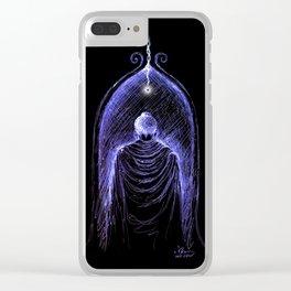 Buddha Nirvana Stargate Clear iPhone Case