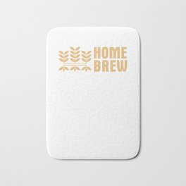 Home Brewing Brewer Craft Beer Beer Making Bath Mat