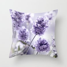 Lavender 292 Throw Pillow