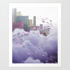 Not all Who Wonder are Lost Art Print