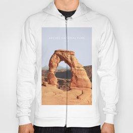 Arches National Park, Utah Travel Artwork Hoody