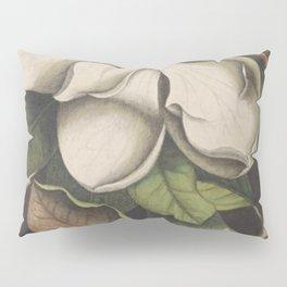 Dark Magnolia Pillow Sham