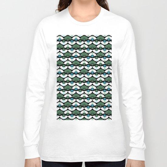 Green Vintage Long Sleeve T-shirt