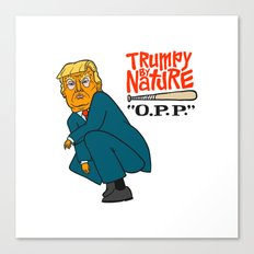 Trumpy by Nature Canvas Print
