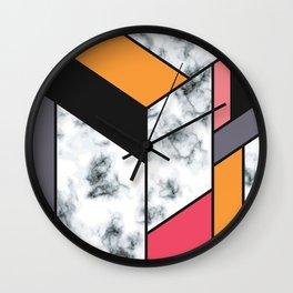 Marble & Geometry 012 Wall Clock