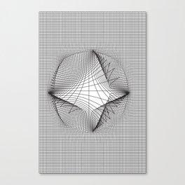 Warp (series) Canvas Print