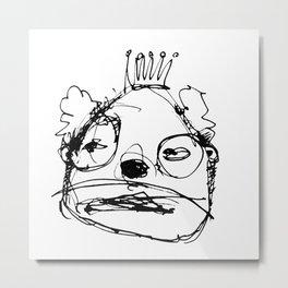 Clowns in Crowns #5 Metal Print
