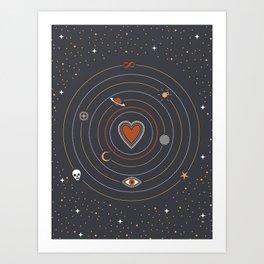 Love Universe Art Print