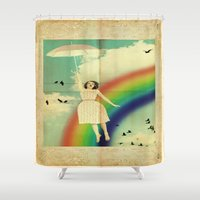 dorothy Shower Curtains featuring Dorothy by Robin Curtiss