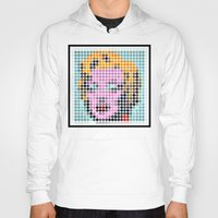 monroe Hoodies featuring Monroe by ONEDAY+GRAPHIC