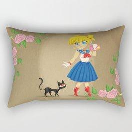 Retro Sailor Moon Rectangular Pillow