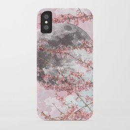 Spring Moon iPhone Case
