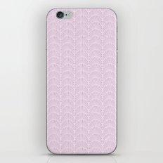 Art Deco Lavender Fields by Friztin iPhone & iPod Skin