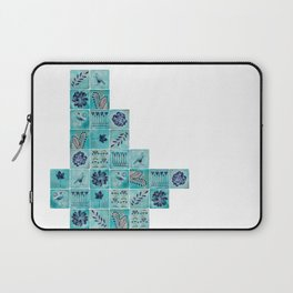 A Tile of Two Cities Laptop Sleeve