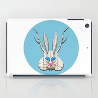 jackalope iPad Cases featuring THE JACKALOPE by Ken Forst