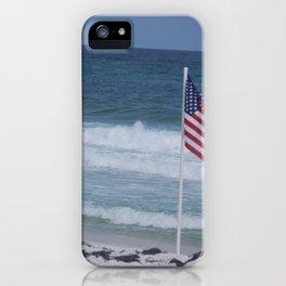 Good Morning, USA iPhone Case