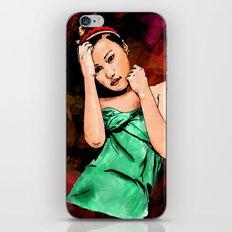 Japanese Girl iPhone & iPod Skin