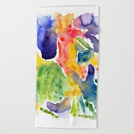 Love and Light Beach Towel