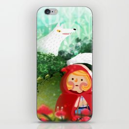 Hello Little Red Riding Hood iPhone Skin