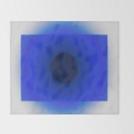Blue Essence Throw Blanket